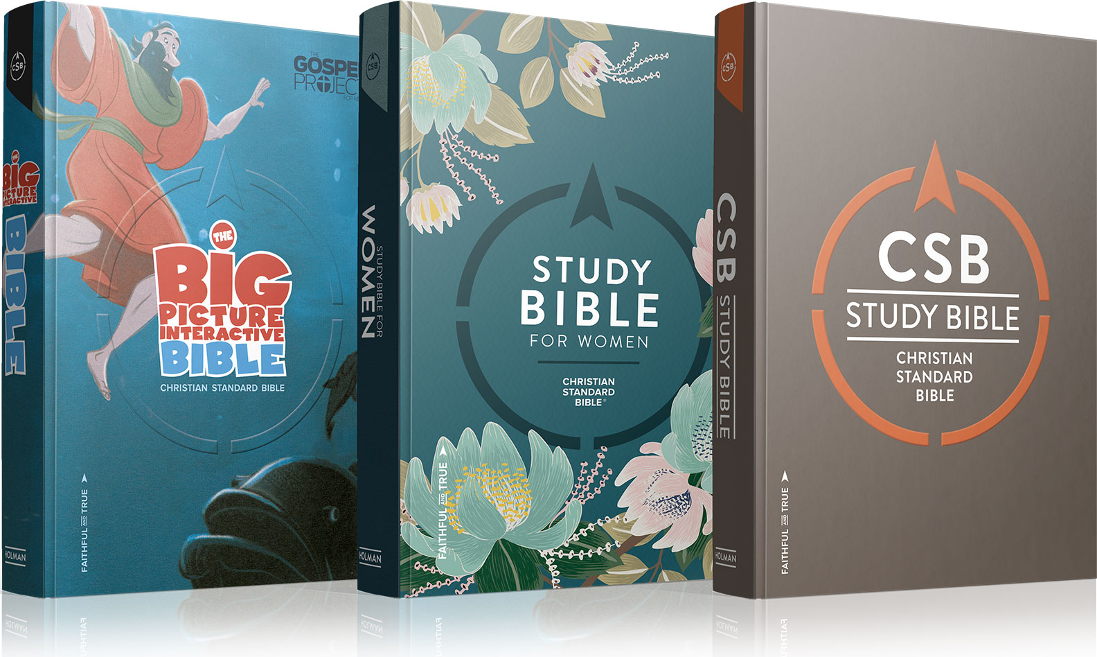 CSB Bible covers