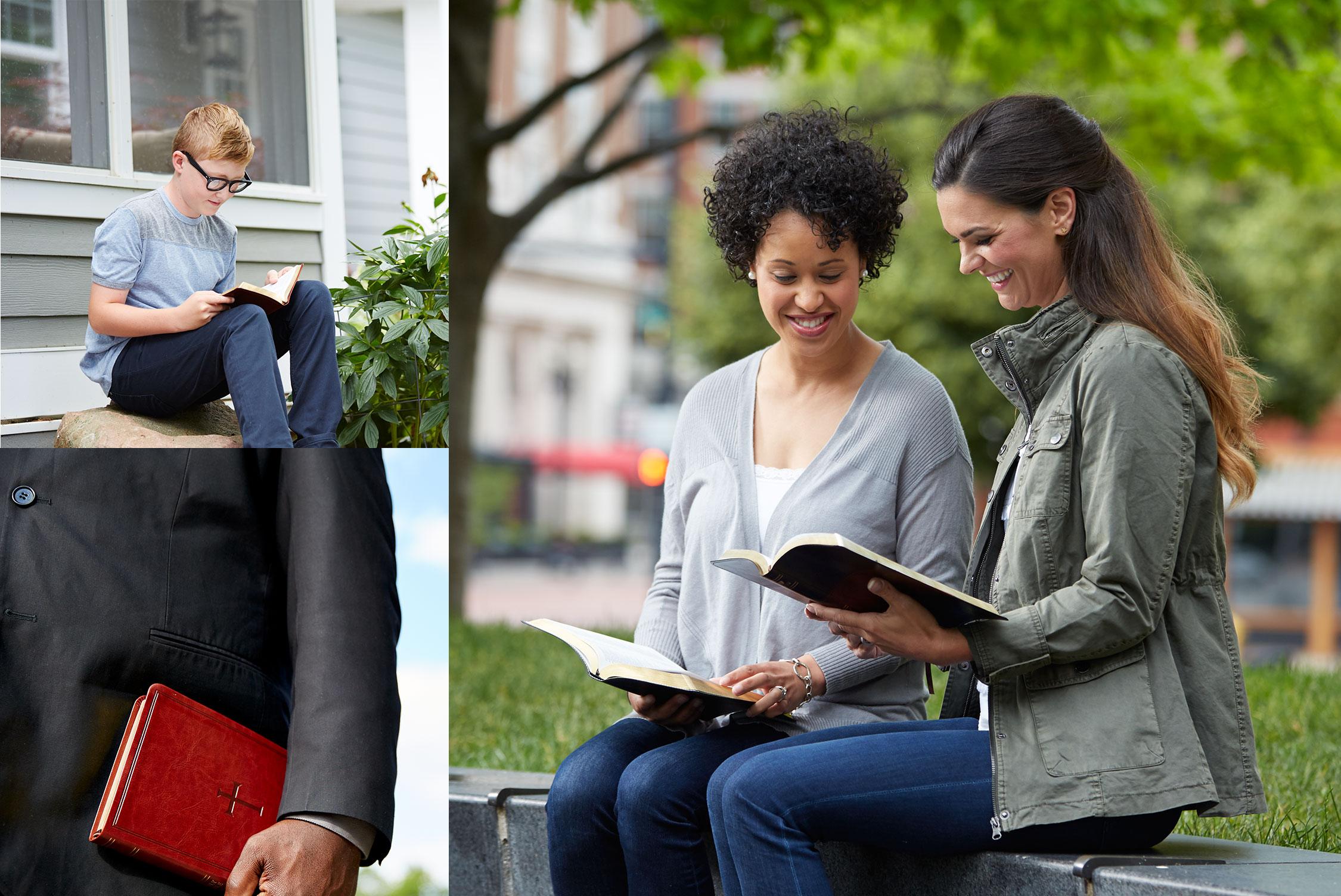 Women reading Bibles