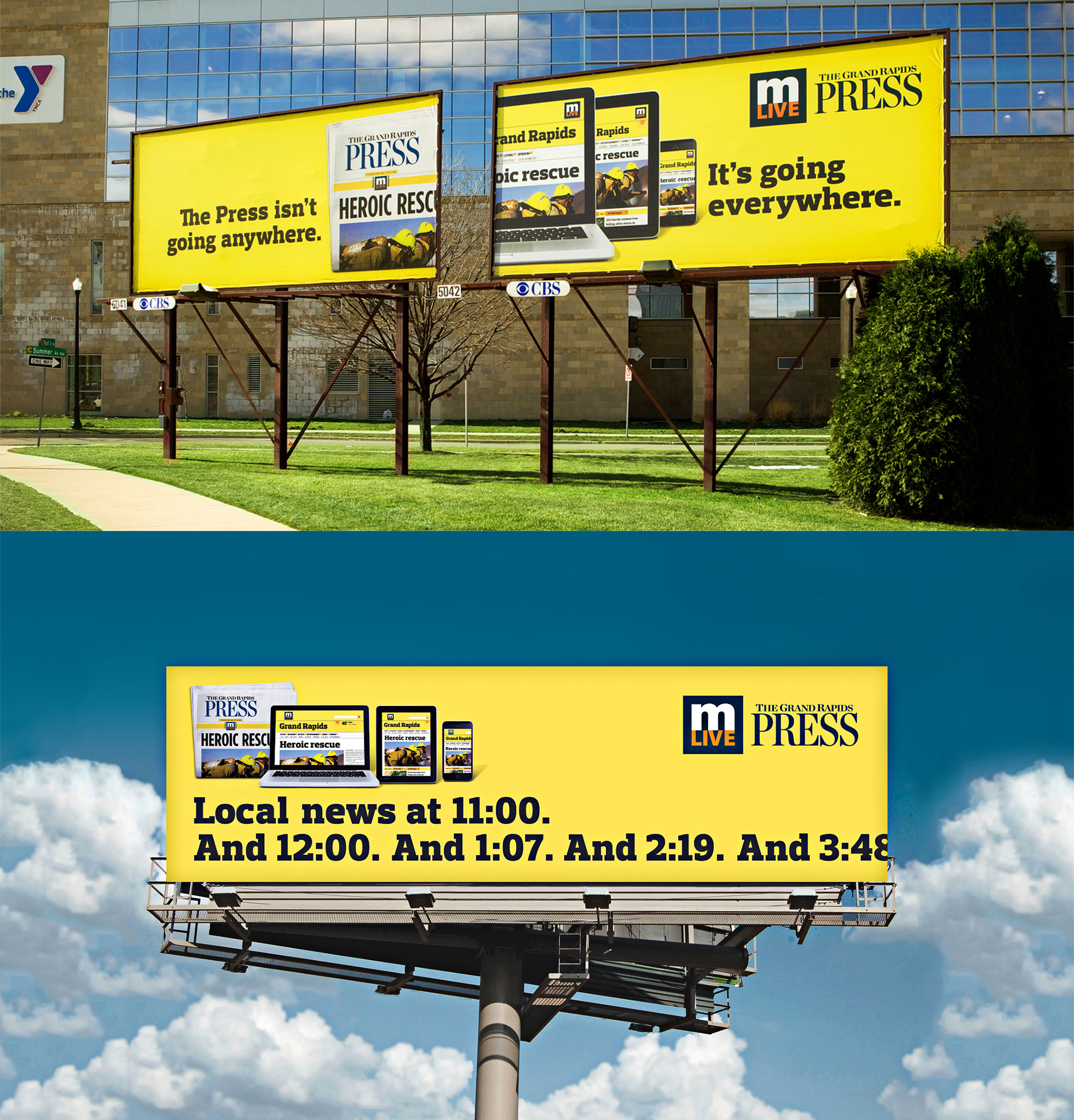 mLive billboards