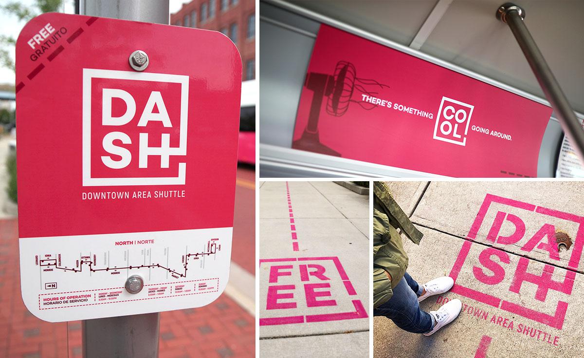 DASH signage